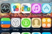 Comment faire cinq icônes sur iDevice jailbreaké