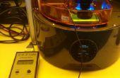 Réglage des changements dans l'intensité de la lumière avec l'imprimante Ember