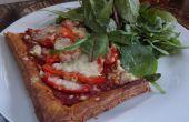 82P Healthish Pizza fraîche de pâte feuilletée !