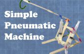 Machine pneumatique simple