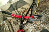 Poignées de vélo bricolage
