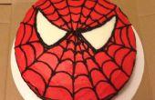 Gâteau de Spider-Man