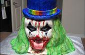 Comment faire un mal Clown Cake.