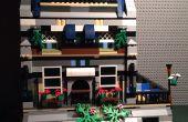Bâtiment modulaire LEGO House/restaurant