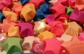 Comment faire Origami papier étoiles