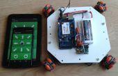 Omni robot mobile de la roue - IoT