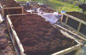 Aucun irrigation ne déclenché le système de lit jardinage (Hugelkultur)