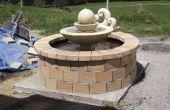 Fontaine d'étang se