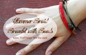 Été tresse Bracelet avec perles