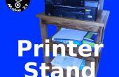 Faire un support d'imprimante de poche trou