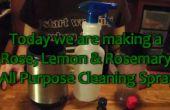 Comment faire un Rose citron romarin tout usage Herbal nettoyant