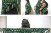 Crocodile piquer châle – Crochet patron gratuit