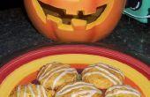 Biscuits citrouilles avec glacis