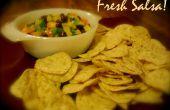 Comment faire de Salsa fraîche