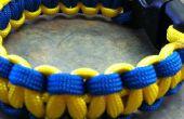 2 couleur Bracelet paracorde (tutoriel)