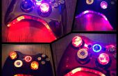Manette de Xbox 360 Wireless Modded LED