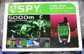 Installation d'une alarme de moto bidirectionnelles SPY 5000 dans un 1998 Honda CB250 Nighthawk