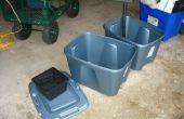 Construire votre propre boîte remplis de terre