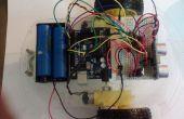 Arduino robot se déplaçant vers l'avant et en arrière à l'aide de HC-SR04 et L293D