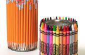 Comment faire cool détenteurs de Crayon et un crayon