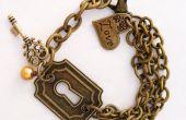 Bracelet à breloques bricolage Vintja Keyhole