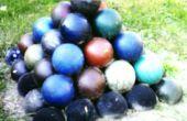 Boule de bowling pyramide Prank