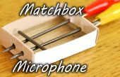 Boîte d'allumettes Microphone
