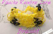 Bracelet de métier à tisser de Pikachu Rainbow