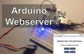 Arduino Webserver contrôle éclairage, relais, Servos, etc....