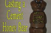 Moulage d'un ciment Honey Bear