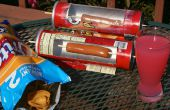 Four cuiseur / solaire de Hot Dog