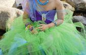 Ne cousez sirène Costume DIY