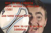 Obtenez une épique 1000FPS SLOW MOTION caméra pour 150 $! et conseils d'utilisation !