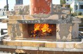 Comment construire un four à Pizza au feu de bois temporaires brique avec bon marché, facile à trouver les matériaux