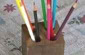 Réutilisation de déchets : Crayon porte