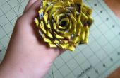 Comment faire une Spiky Duct Tape Rose