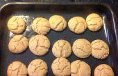 Biscuits au beurre d'arachide donne 4 douzaines
