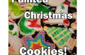 Peint mes vacances/Noël biscuits au sucre