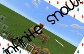 Neige infinie dans Minecraft