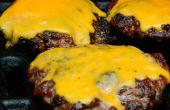 Cheeseburger pique-nique