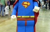 Comment pour faire un Lego costume de « Superman »