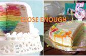 Un millier de couche gâteau d'anniversaire (crêpe Mille)