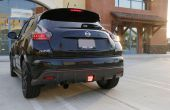 IJDMTOY Nissan Juke Nismo JDM arrière brouillard léger Installation