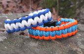 Comment faire un Bracelet de survie en deux couleurs