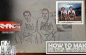 Faire le dessin au crayon-Art-Image