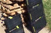 Objectif zéro Nomad panneau solaire cadre