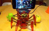 L'Hexbug araignée XL pour ajouter de la Vision d'ordinateur à l'aide du piratage un Smartphone Android
