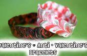 BRICOLAGE Saint Valentin & Anti - Vday Bracelets !