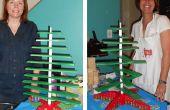 Faire votre propre arbre de Noël en bois