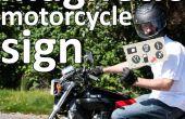 Panneau magnétique moto